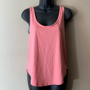 Free people pink sliver top szS